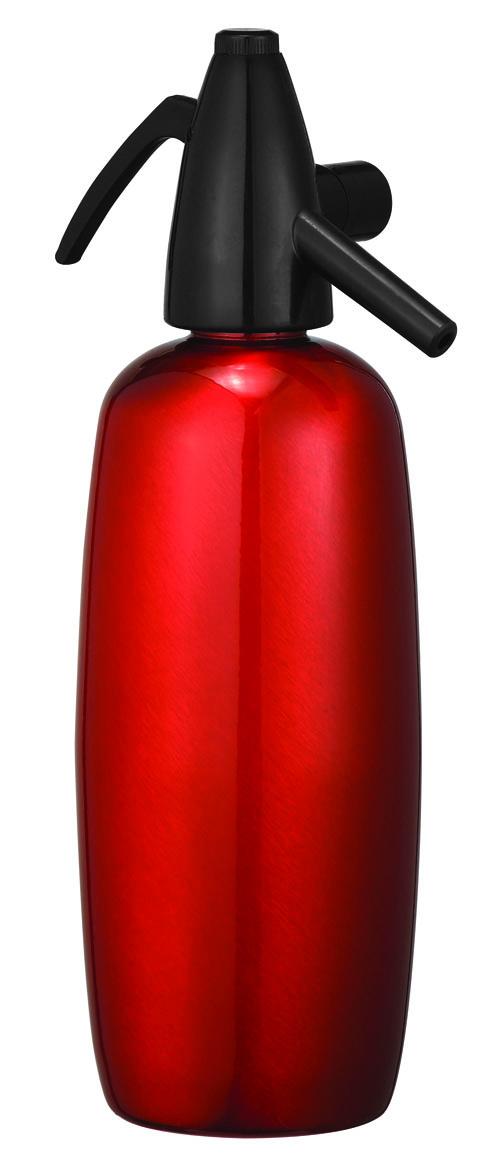 Bình tạo soda ITIS 1L- Super Stainless - Màu đỏ