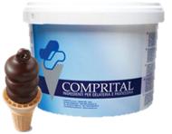 Sốt Sô-cô-la chip dùng trang trí, làm topping kem Comprital