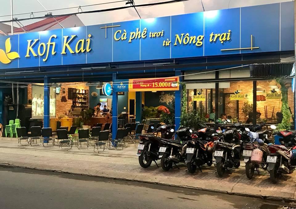 Kofi Kai Café - cà phê Việt kết hợp máy pha cà phê Ý và những bước tiến mạnh mẽ sau Covid