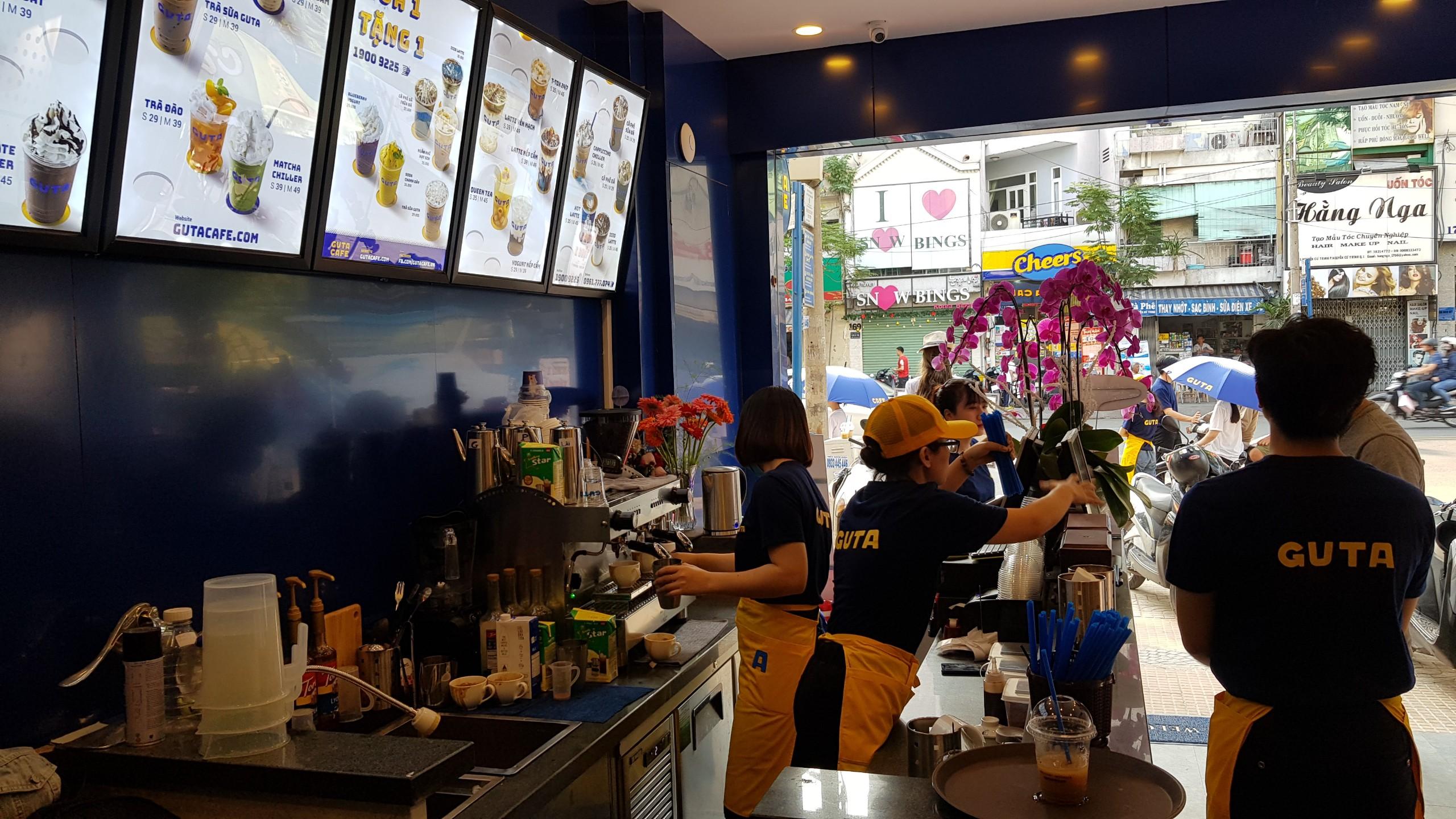 4 lý do GUTA Cafe lựa chọn máy pha cà phê BEZZERA cho chuỗi hơn 50 cửa hàng mini shop cafe tiện lợi?