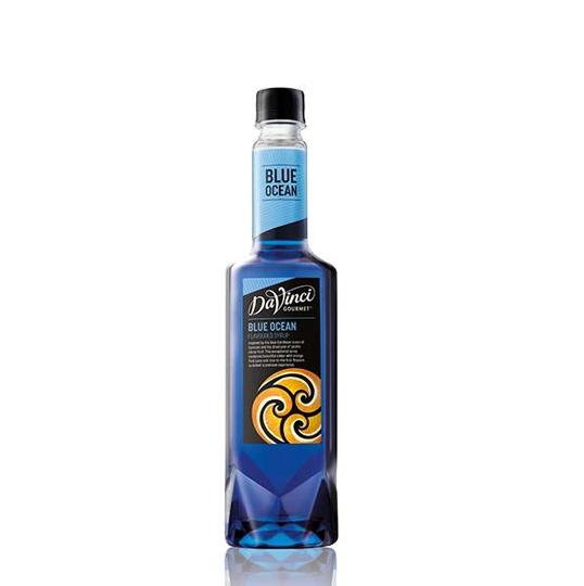 Davinci Syrup Blue Ocean/ Sirô hương Vỏ Cam Chanh Xanh