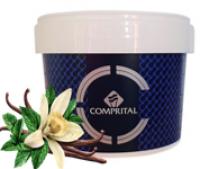 Mứt làm kem Comprital - Vị Vanilla trắng Pháp