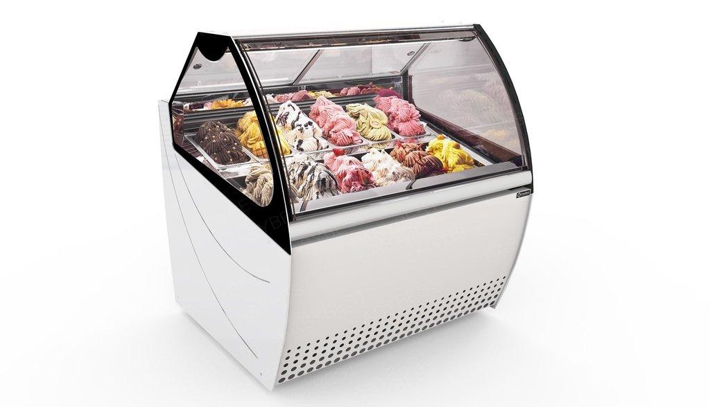 Tủ trưng bày kem Easybest Magic 12
